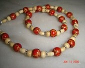 Neutral Wood Necklace