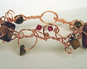Dragon's Tail Bent Wire Bracelet