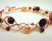 Chiamaka Bent Wire Anklet