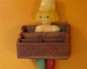 reserved for elizabeth DUTCH BOY vintage object assemblage art 1000 PIECES no. 102