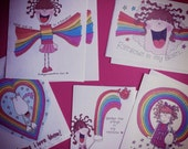 Kittypinkstars rainbow stickers