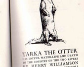 Tarka the Otter 1964 Vintage First Edition Child Book