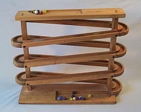 Reserved Listing For Jamie Single Track Marble Run