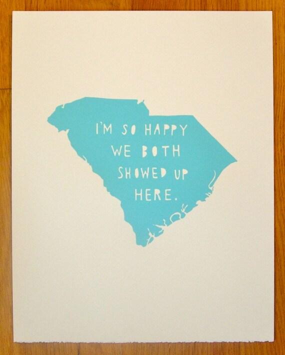 SOUTH CAROLINA--I'm So Happy
