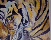 ACEO Tiger Print