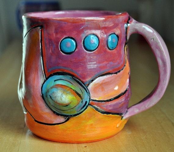 A calling wind mug