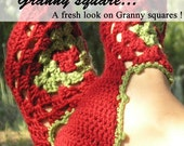 Around the granny square, a collection of 10 crochet patterns from Chez Plum - pdf Ebook - super value