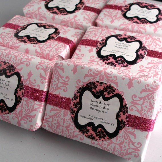 Double Mint Luxury Cold-Processed Soap with Cocoa Butter and Essential Oils