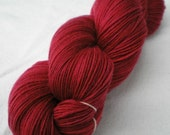 Sock Yarn - Merino / Cashmere / Nylon Sock Yarn, Crime of Passion
