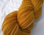 MCN SOCK YARN - Merino / Cashmere / Nylon Sock Yarn, Burnt Butterscotch