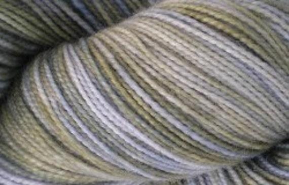 SOCK YARN - Tight Twist Superwash Merino Wool Sock Yarn, Peace of Mind colorway
