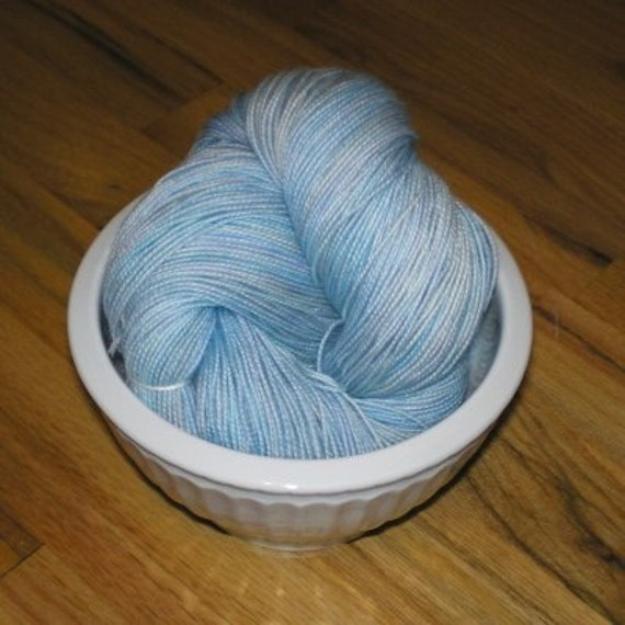 SOCK YARN, Tight Twist Superwash Merino Wool Sock Yarn, Sloth