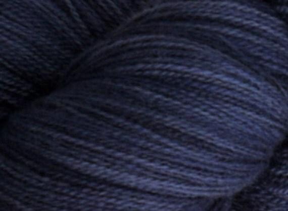 Laceweight Merino Wool Yarn, 2-ounce skein, Blue Monday