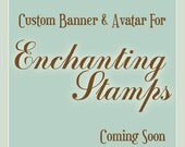 Custom Banner and Avatar for Enchanting Stamps