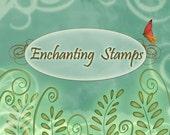 Custom Blog Banner Design for Enchanting Stamps