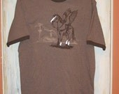 Flying Horse Tee Brown