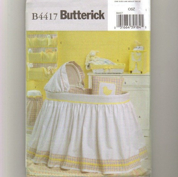 Craft Pattern Nursery Accessories Bassinet Cover New Unused