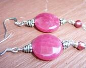 Paris Pink Earrings
