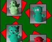 Amigurumi Monster Pattern Collection PDF