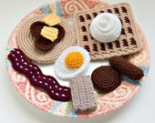 Crochet Breakfast Food Pattern Collection PDF