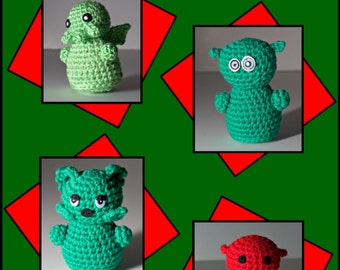 Amigurumi Monster Pattern Collection PDF