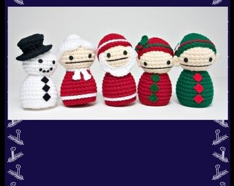 Christmas Crochet Pattern Collection PDF
