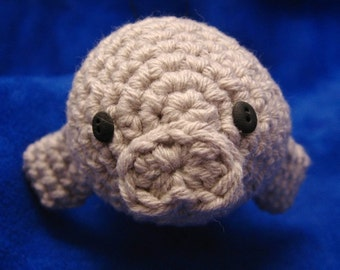 Crochet Swordfish and Manatee Pattern Set PDF (plus Narwhal Pattern)