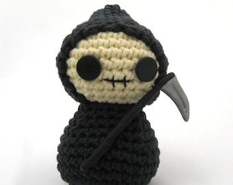 Amigurumi Grim Reaper