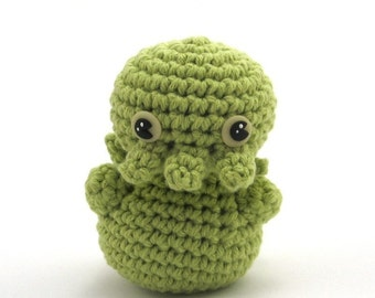 Cthulhu, Handmade Crocheted