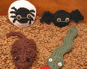 Creepy Crawlies Crochet Pattern Set PDF