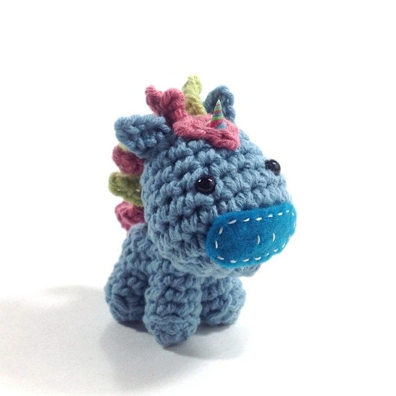 Unicorn Amigurumi Yarn Yard : Amigurumi Unicorn