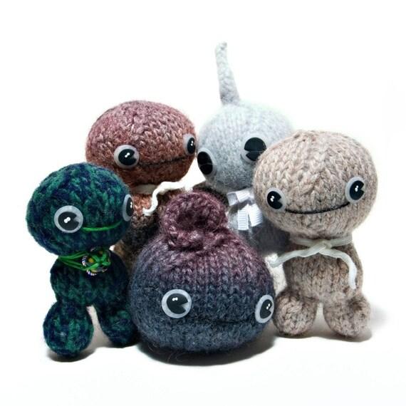 Knit Dudes Toy Pattern PDF