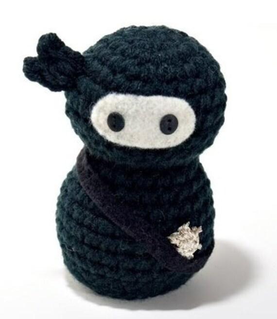 Ninja Amigurumi Free Pattern : Amigurumi Ninja