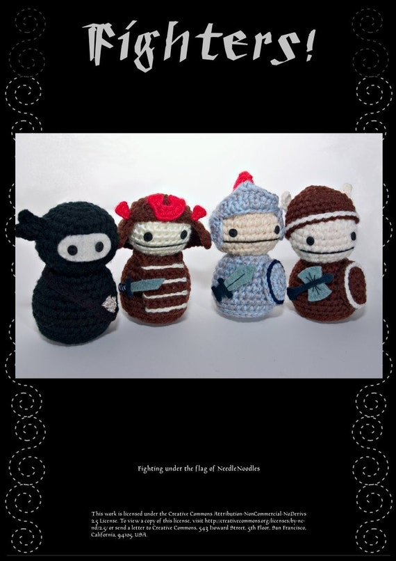 Fighters Crochet Pattern Collection PDF