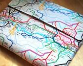 Macbook pro case, Macbook 13 inch laptop sleeve, Chromebook  Cover- Subway map - Laptop Case, Laptop Cover, Laptop Sleeve