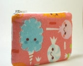 Small pouch---Cotton candy friends