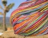 Fingering Weight Yarn - BFL Wool  (Blue Faced Leicester) - Rainbow