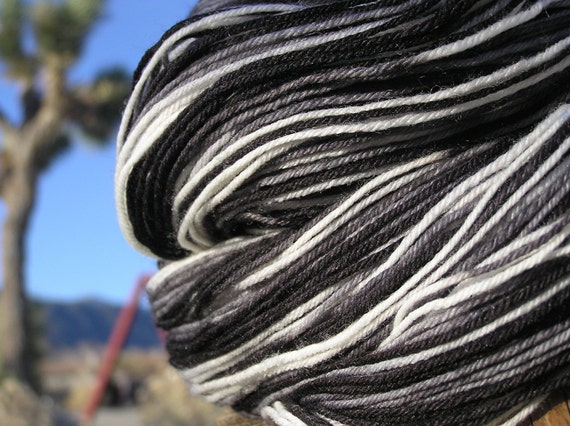 Fingering Weight Yarn - Merino Wool, Cashmere, and Nylon - Southern Pacific