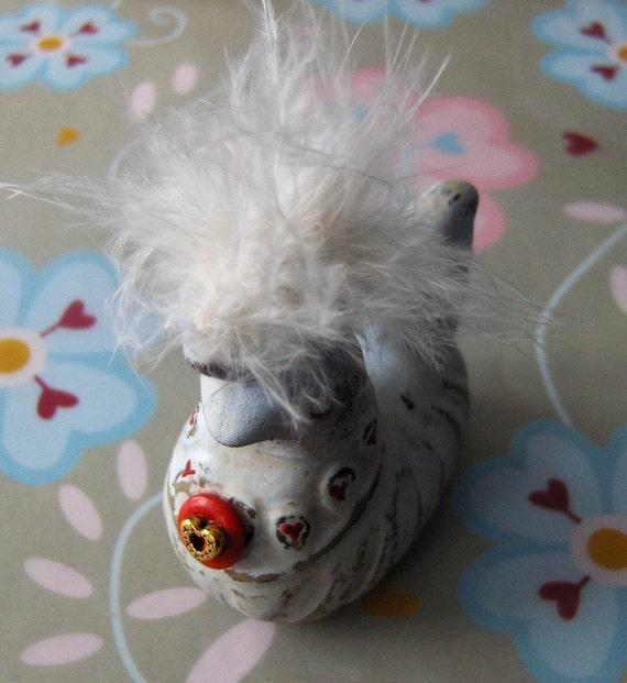 Valentine Love Bird Keepsake  --  Valentino Re-Find Curio Sweet Gift for your Valentine