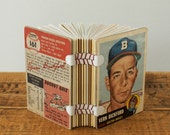Baseball Card Book - Vern Bickford of the Boston Braves