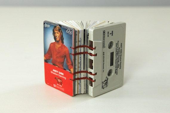 Andy Gibb Cassette Tape Blank Book / Journal