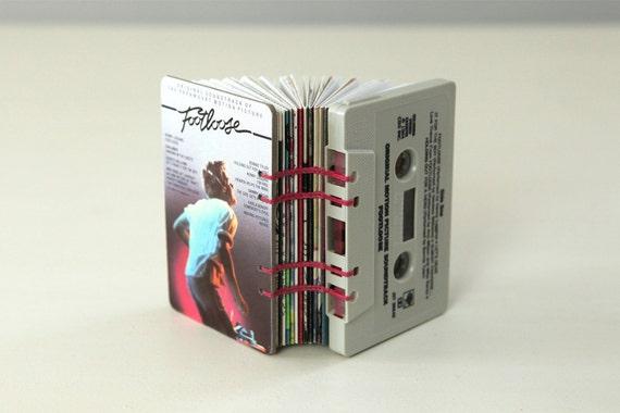 Footloose Soundtrack Cassette Tape Blank Book / Journal