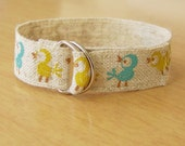 Birds in a row Ribbon Bracelet