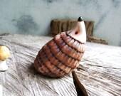 Woodland Hedgehog Porcelain Ring Holder, Made to Order