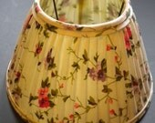small vintage floral lamp shade