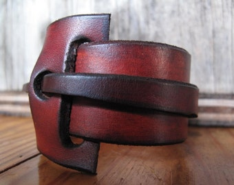 Wrap Around Leather Cuff