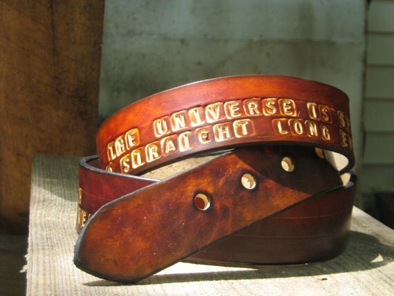 Your Mantra Leather Belt