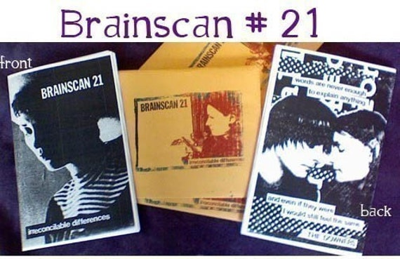 Brainscan Zine number 21: Irreconcilable Differences