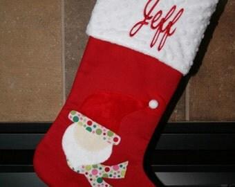 Santa Claus Christmas Stocking