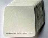 Square Tiles - Watercolor Cold Press